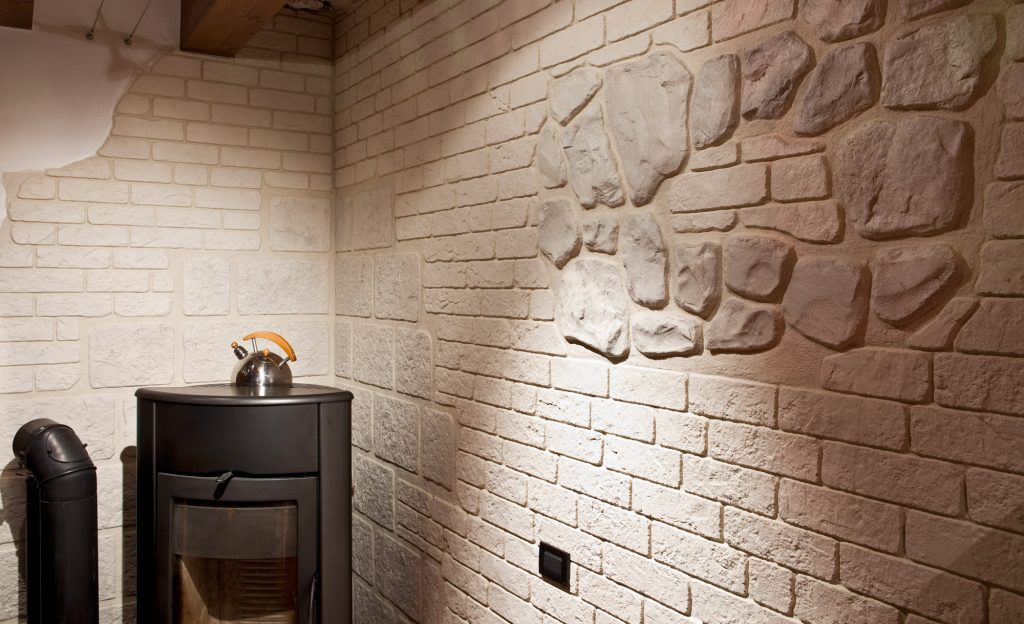 Rivestimento della parete con muro stampato