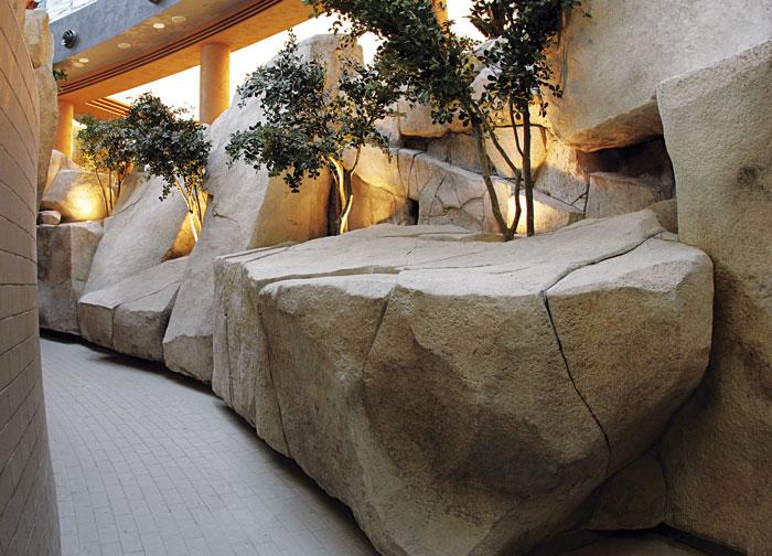 Rivestimenti in roccia artificiale