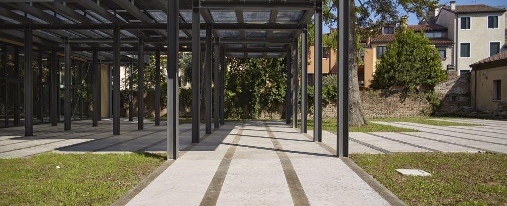 Pavimento stampato dei musei eremitani