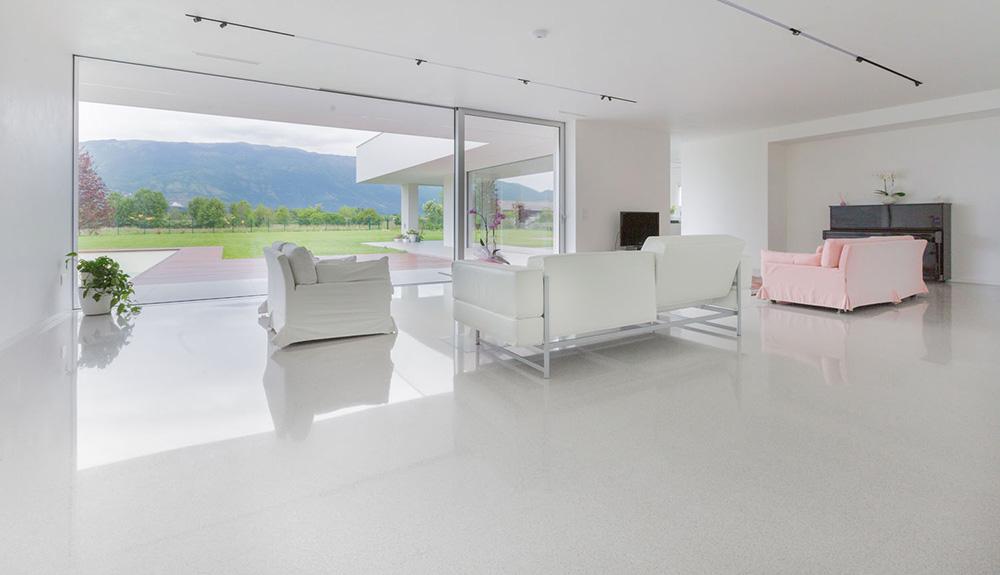 rivestimenti e pavimenti - ristrutturazione soggiorno casa a Pordenone