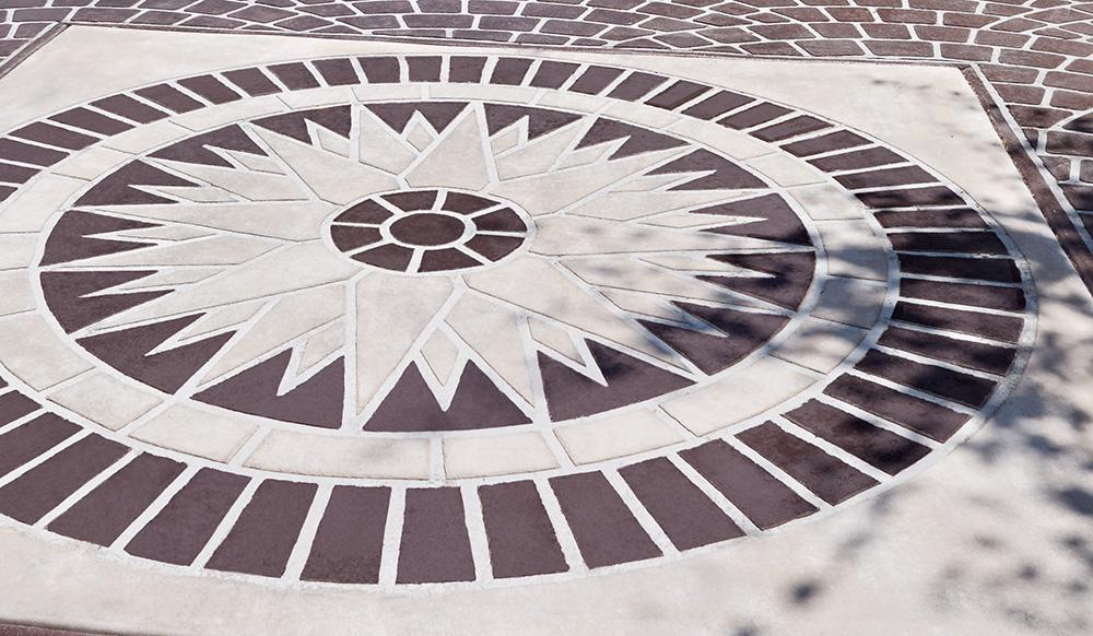 pavimento stenciltop decori artistici