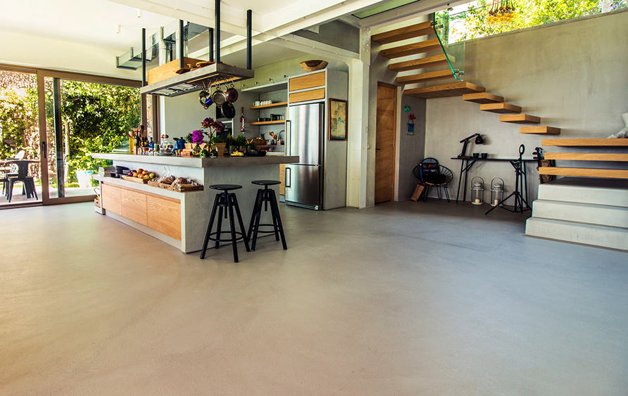 idee ristrutturazione soggiorno - pavimenti e rivestimenti